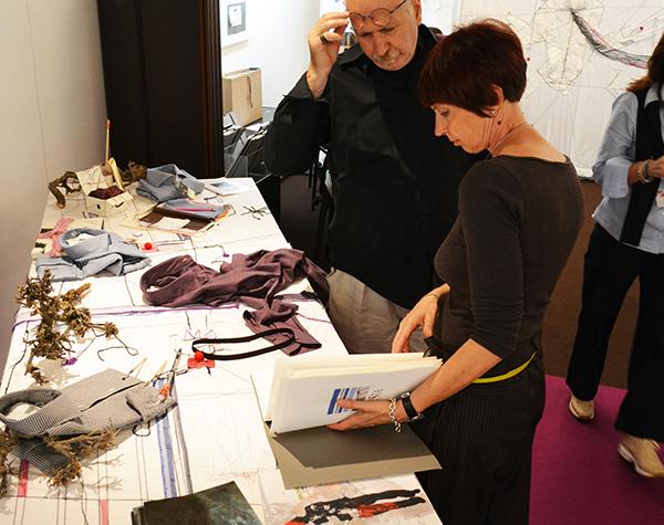 Anna Fileppo e Vincenzo Fiorito<br>Milano Unica 2015