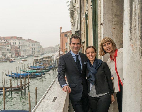 Venezia 5 ottobre 2017<br>Daniele Guidi<br>Enrica Pastore<br> e Anna Fileppo